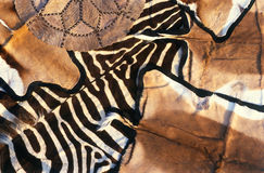 African Animal Skins Royalty Free Stock Photography