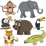 African Animals Collection [2] stock illustration