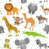 African animals. Royalty Free Stock Photo