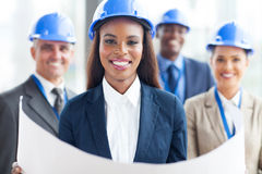 African architect team Stock Photography