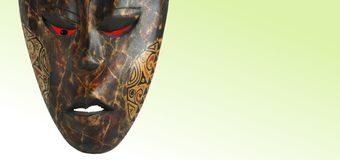 African art. Photo of handmade figure (Africa, wood Royalty Free Stock Image