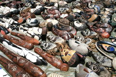 African art flea market Royalty Free Stock Photos