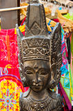 African art at the Spanish market Stock Photo