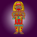 African artworks. African style decorative  ornaments Stock Photo