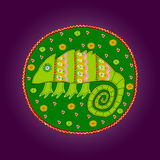 African artworks. African style decorative vector ornaments Stock Photo