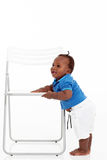 African baby boy Royalty Free Stock Photography