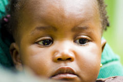 African Baby Girl Stock Photography