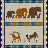 African background design Royalty Free Stock Image