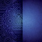 African Background Design Template. Royalty Free Stock Images