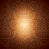African background design template. Royalty Free Stock Photography