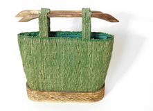 African Bag. Stunning hand made African handbag Stock Photography