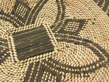 African basket close up. Close up of brown and tan woven african basket Stock Images