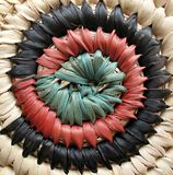 African Basket Design 2 Royalty Free Stock Photos