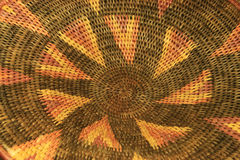 African basket detail Royalty Free Stock Photography