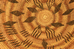 African basket pattern Stock Image