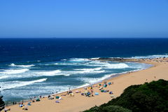 African beach Royalty Free Stock Image