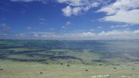African beach in indian ocean stock video footage