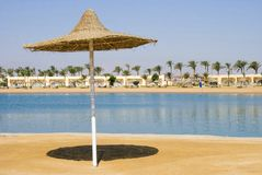 African beach of the Red Sea riviera Stock Images