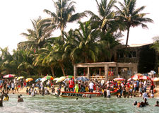 African beach - Senegal Stock Photography