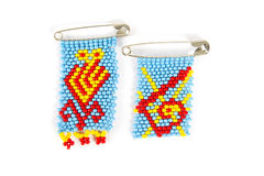 African bead work Stock Image