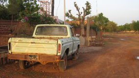 African Beat-Up Truck Stock Images