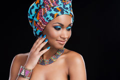 African beauty. Royalty Free Stock Photography