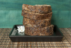 African black soap Royalty Free Stock Images