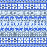 African blue texture Stock Photos
