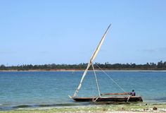 African boat Stock Image