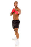 African boxer exercise Stock Photography