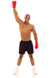 African boxing winner Stock Photos