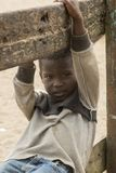 African boy in ghana Royalty Free Stock Images
