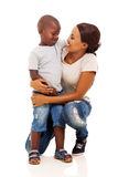 African boy mother Royalty Free Stock Images