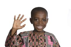 African Boy Portrait Royalty Free Stock Photos