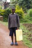 African boy in Rwanda Stock Photos