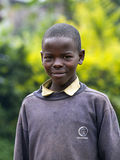 African boy in Rwanda Royalty Free Stock Photos