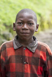 African boy in Rwanda Stock Photos