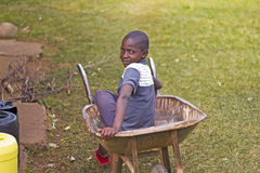 African Boy Royalty Free Stock Photo
