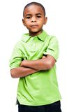 African boy standing Royalty Free Stock Images