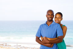 African boyfriend girlfriend Stock Photo