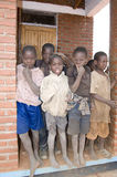 African Boys At Gusu Primary School Royalty Free Stock Photography