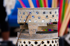 African brazier barbecue Royalty Free Stock Images