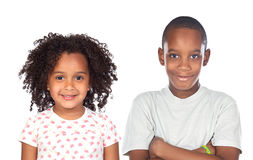 African brothers children stock images