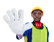 African builder Stock Images