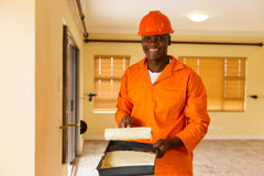 African builder paint Royalty Free Stock Photography