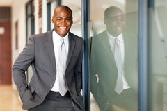 African business executive Stock Photography