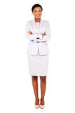 african business executive Stock Photo