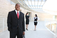 African Business Man at Office Royalty Free Stock Photography