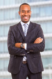 African Business Man Royalty Free Stock Photography