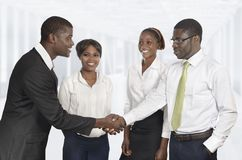 African Business Meeting Stock Photo